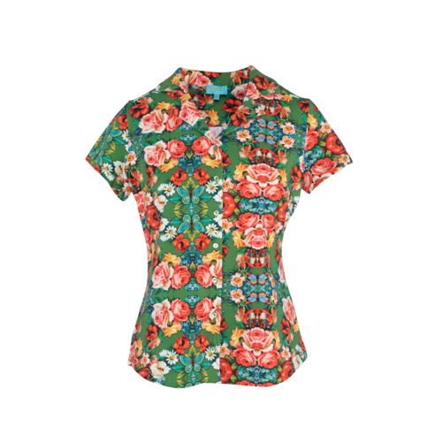 LaLaMour Blouse Rose - green
