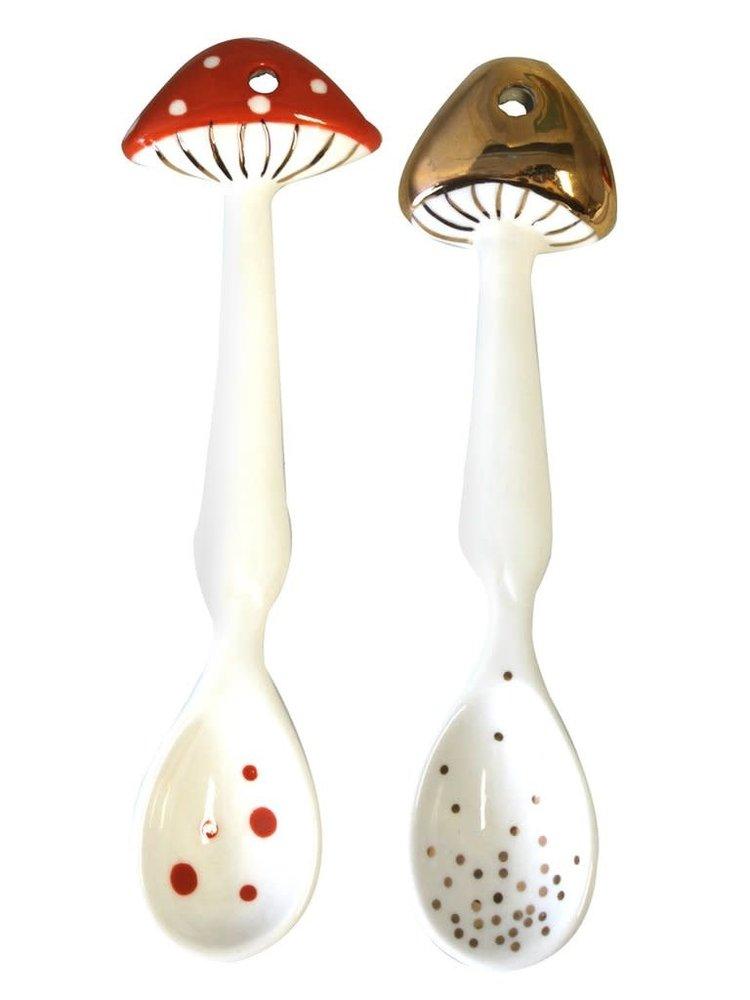 Disaster Mushroom spoon set