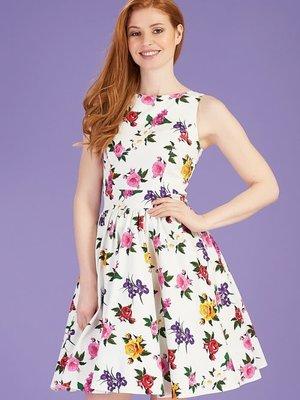 Lady V Tea Dress - Gossamer Rose