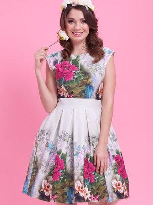 Lady V Leila Dress - Enchanted Forest size S