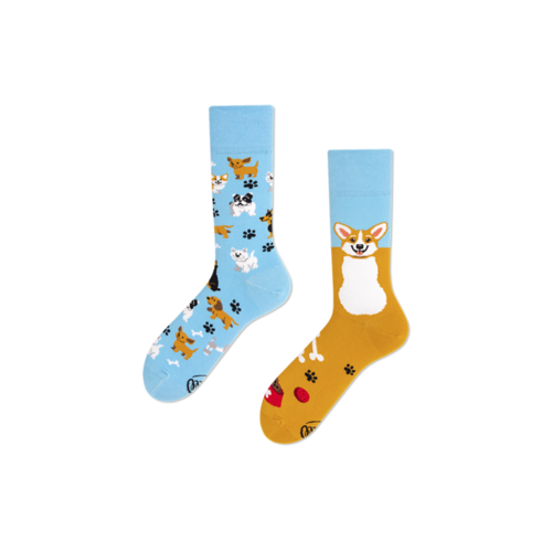 Playful dog socks 39-42