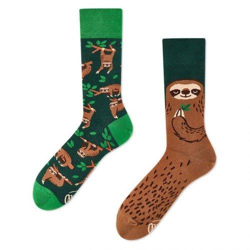 Many Mornings Sloth Life socks 43-46