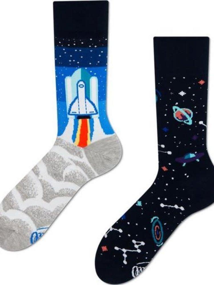 Many Mornings Space Trip socks 43-46