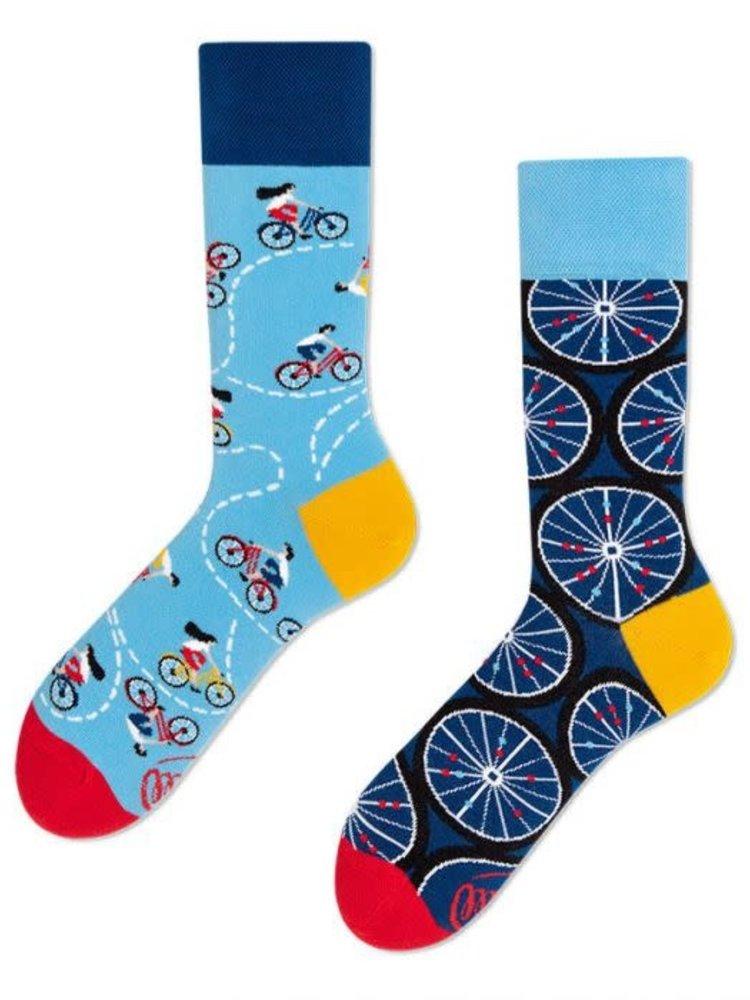 Many Mornings Bicycle socks 43-46