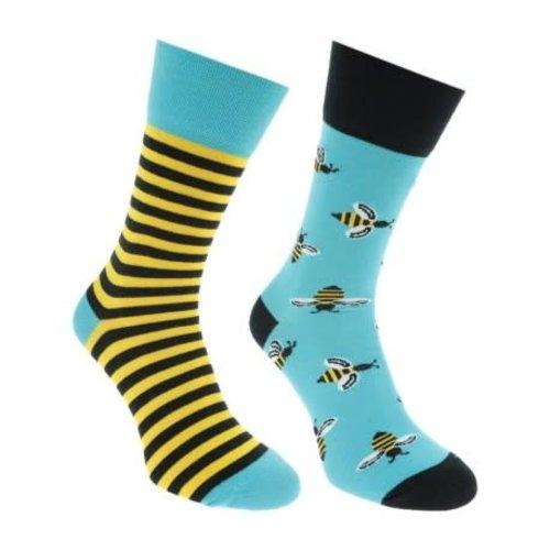 Many Mornings Bee Bee socks