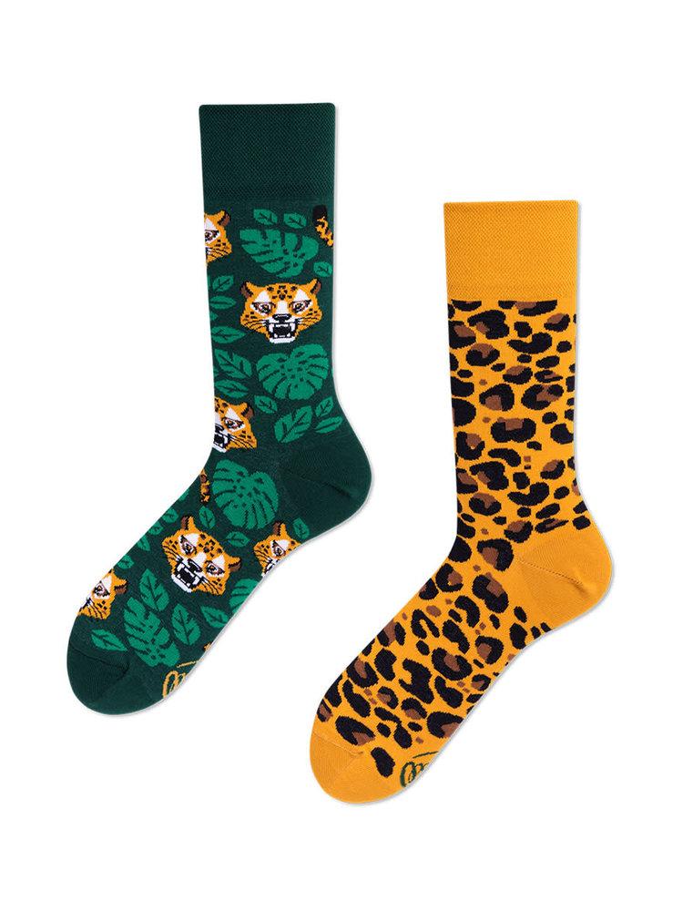 Many Mornings El Leopardo socks