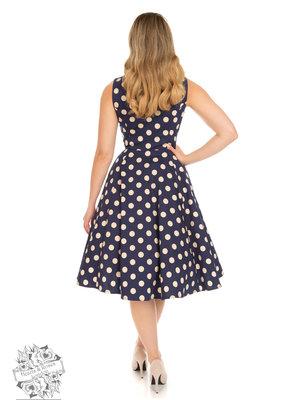 Hearts & Roses Mia Polka Dot Swing Dress