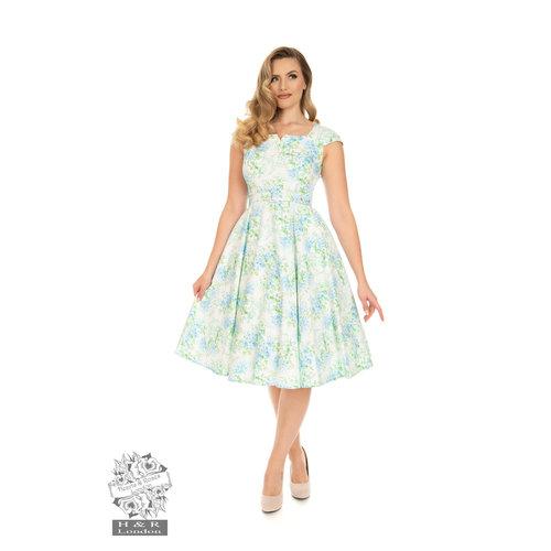 Hearts & Roses Ellie Floral Swing Dress
