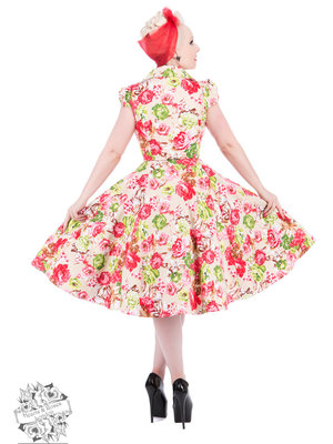 Hearts & Roses Zennor Floral Tea Dress