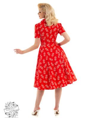 Hearts & Roses Ruby Rose Swing Dress