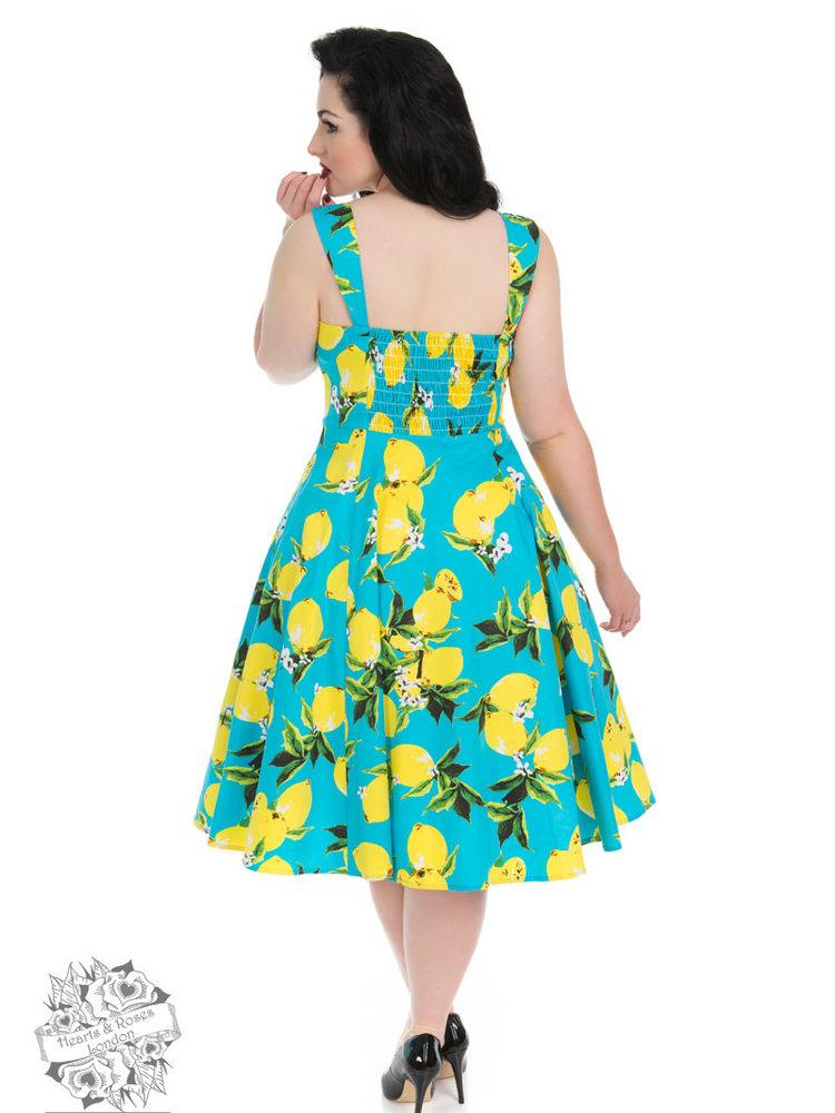 Hearts & Roses Lemon Dress