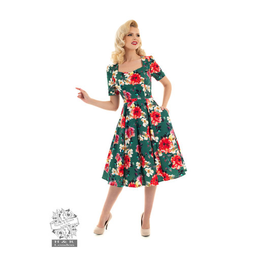 Hearts & Roses Pamela swing dress size XL