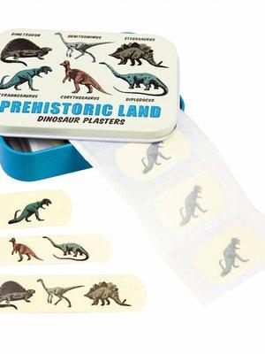 Rex London Dino pleisters in blik