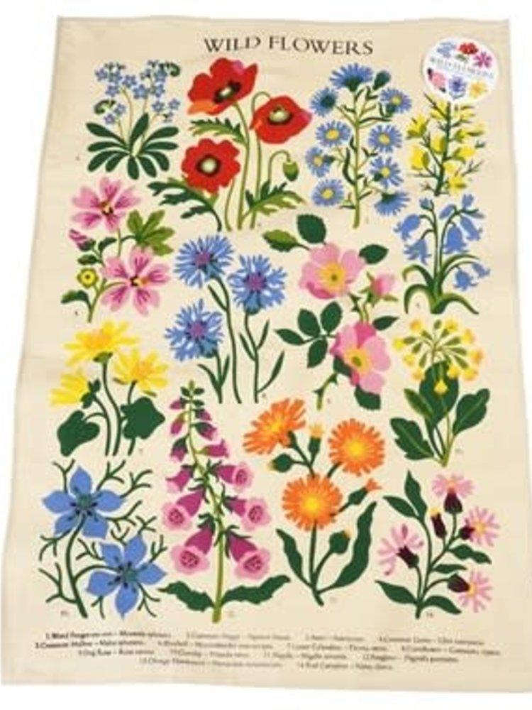 Rex London Wild Flowers Tea Towel