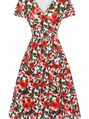 Lady V Lyra - Vintage Roses size XL