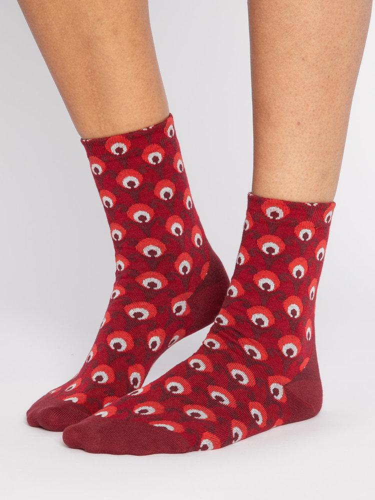 Blutsgeschwister Bluts Socks - Red Retro