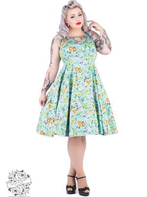 Hearts & Roses Ella Floral Swing Dress