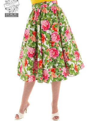Hearts & Roses Francine bloemen swing rok