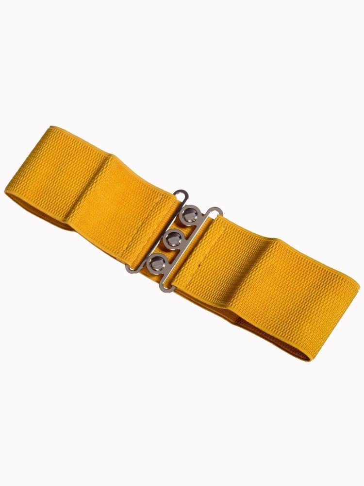 Banned Stretch Belt - Mustard