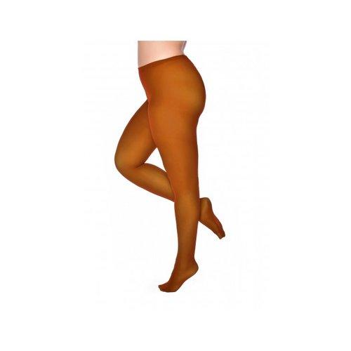 Pamela Mann 50 Denier Curvy Super Stretch Tights Cognac