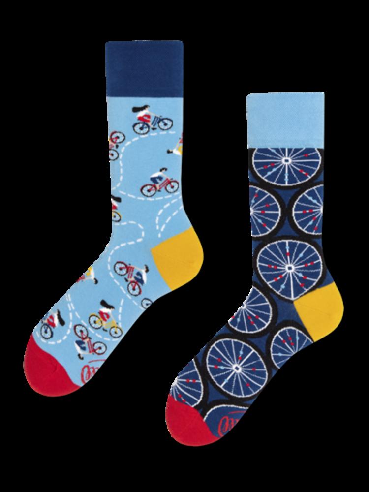 Many Mornings Bicycles Socks 43-46