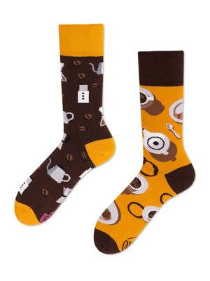 Many Mornings Coffee Socks 43-46