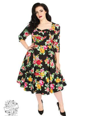 Hearts & Roses Zena Dress 3XL