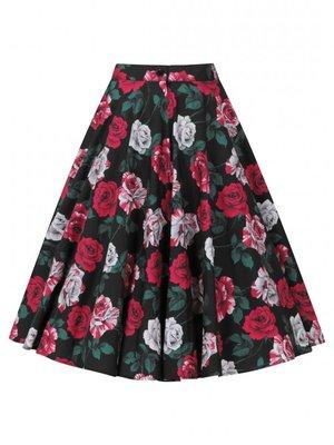 Hell Bunny Ruby 50's Skirt