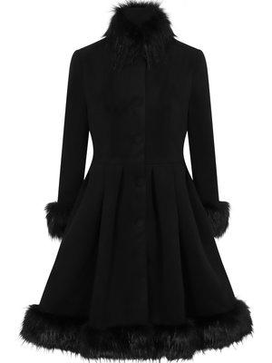 Hearts & Roses Elsie coat - Black size L