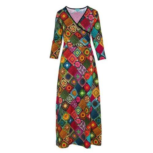 LaLaMour Granny squares Cross dress