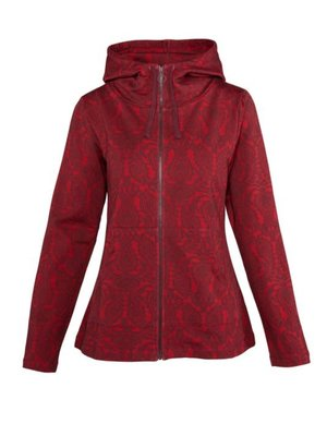 LaLaMour Hoodie tulip red
