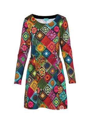 LaLaMour Granny tunic dress