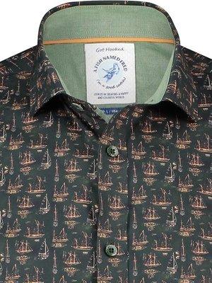 A Fish Named Fred Shirt Sailboat