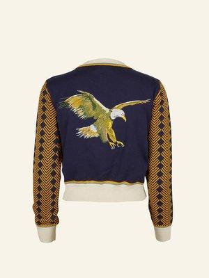 Palava Vera - Embroidered Flying Eagle Cardigan