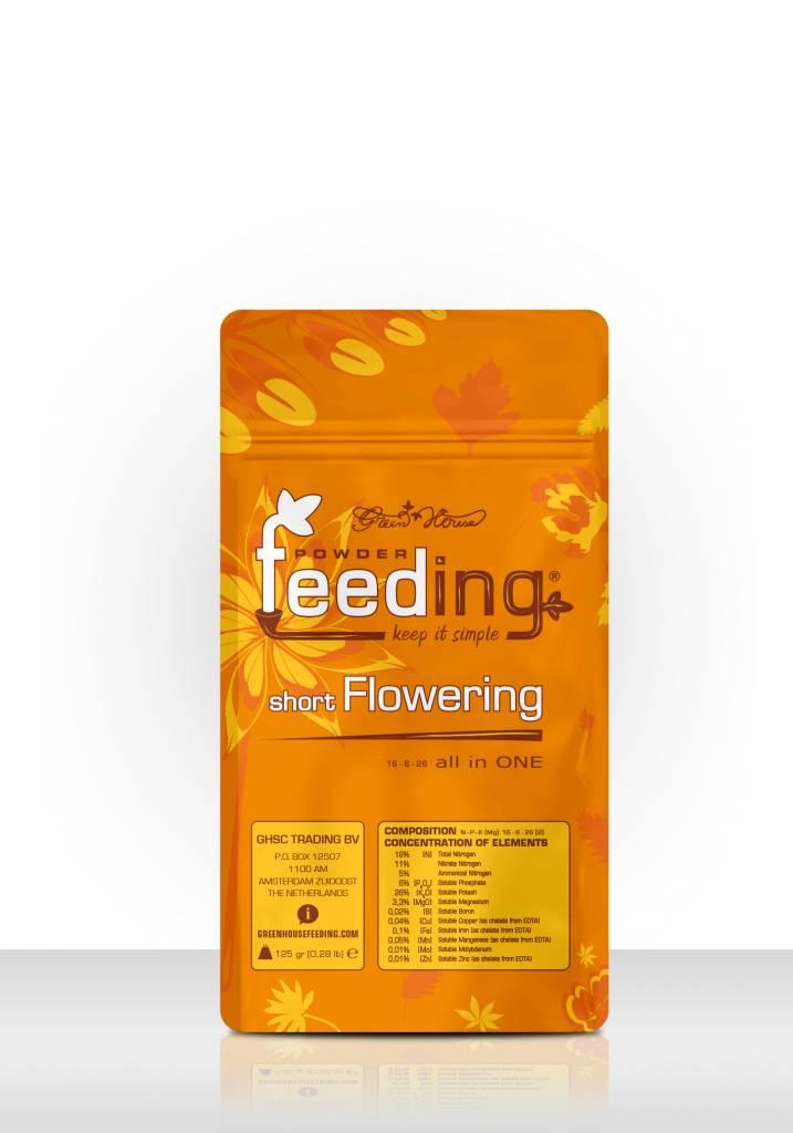 Greenhouse Feeding Greenhouse Feeding Powder short flowering 125 Gr. Päckchen