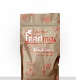 Greenhouse Feeding Greenhouse Powder-Feeding BioBloom  Blütedünger