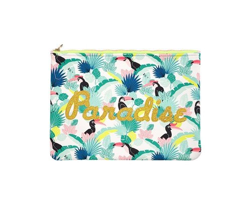 Tropical Paradise Found Zip Pouch PARADISE
