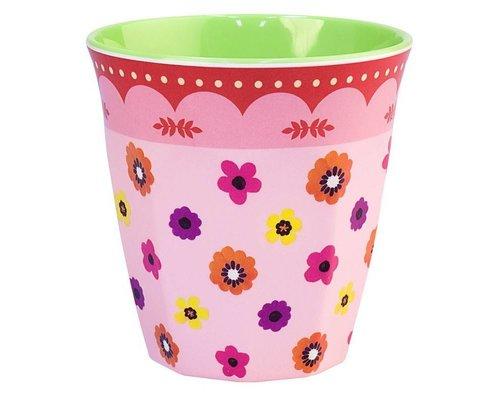 Funky Garden Medium Melamine Cup