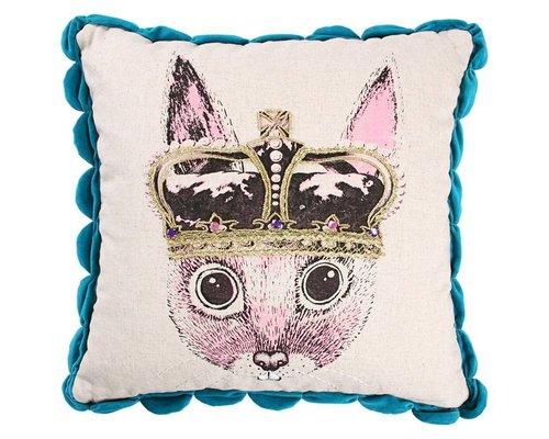 Ginger in Wonderland Cushion Prince - Blue