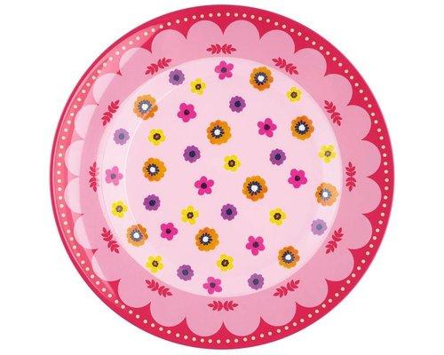 Funky Garden Melamine Dinner Plate