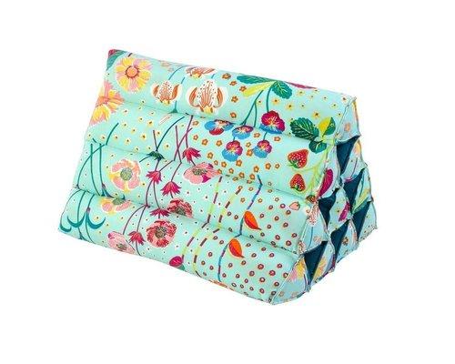 Oriental Blossom Small Triangle Cushion