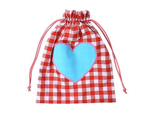 Girls Gym Bag Heart