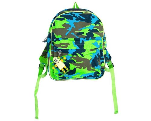 Funky Army Green Kids Backpack