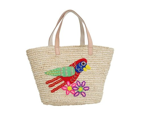 Raffia Bag Bird