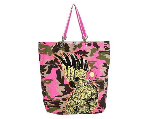 Funky Army Pink Shopper - Cockatoo