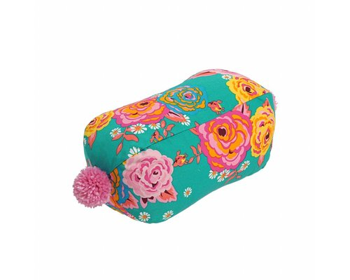 Asian Vintage Flower Neck Cushion