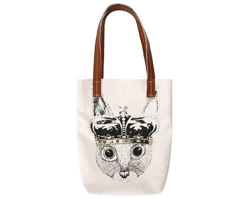 Ginger in Wonderland Tote Bag Prince of Hares