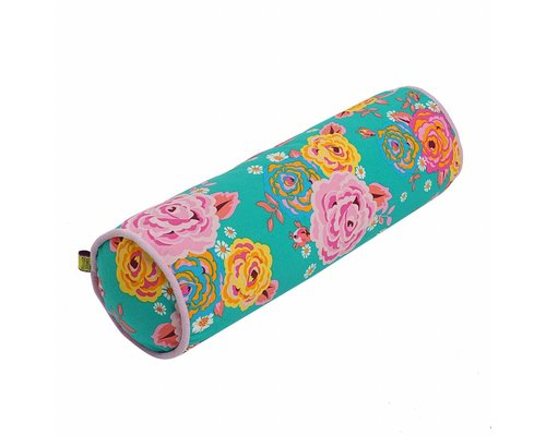 Asian Vintage Flower Bolster