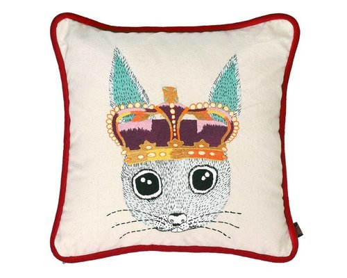 Ginger in Wonderland Cushion Embroidery - Prince