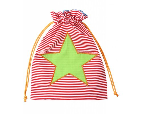 Boys Gym Bag Star - Green Star